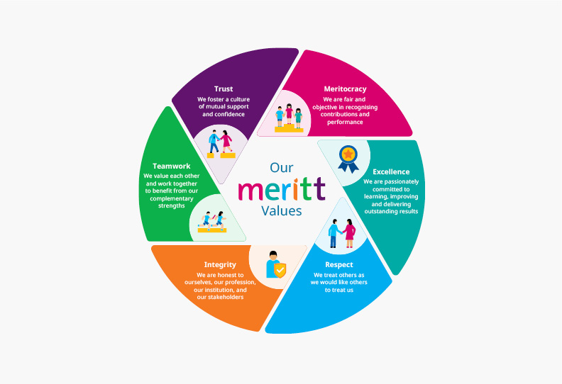 Our MERITT Values